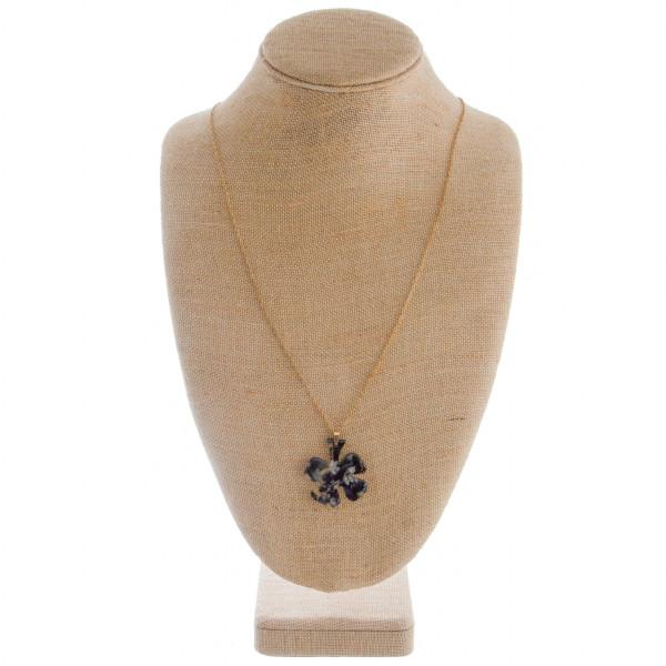 Wholesale clover leaf earring necklace set Approximate pendant