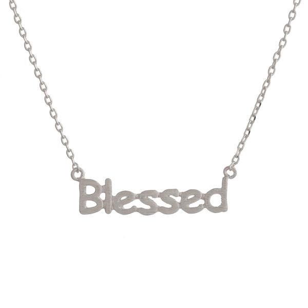 Wholesale gorgeous short inspirational message necklace Approximate pendant Bles