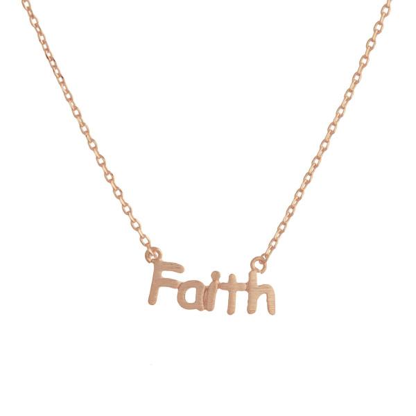 Wholesale gorgeous short inspirational message necklace Approximate pendant Fait