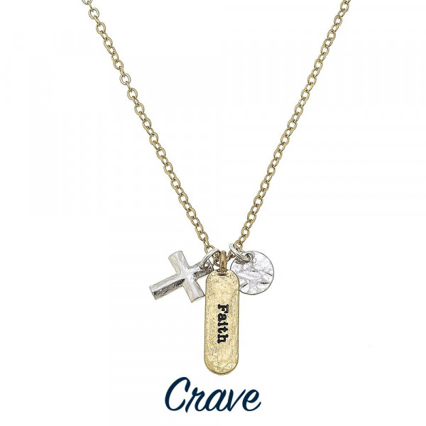 Wholesale long metal necklace cross charm inspiration Approximate