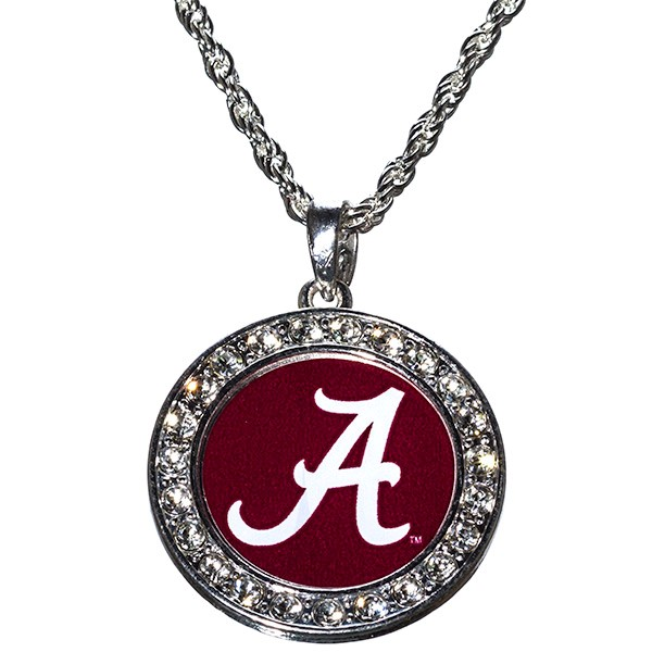 Wholesale officially Licensed Collegiate Product University Alabama Necklace Pol