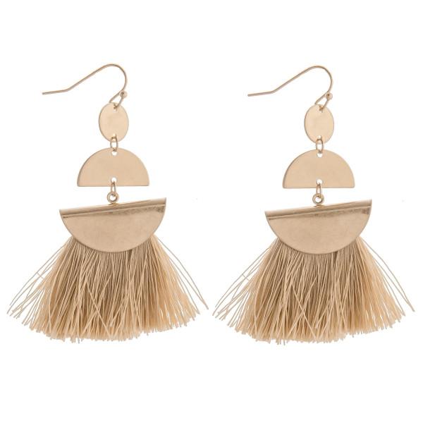 Wholesale long gold dazzling earring tassel Approximate