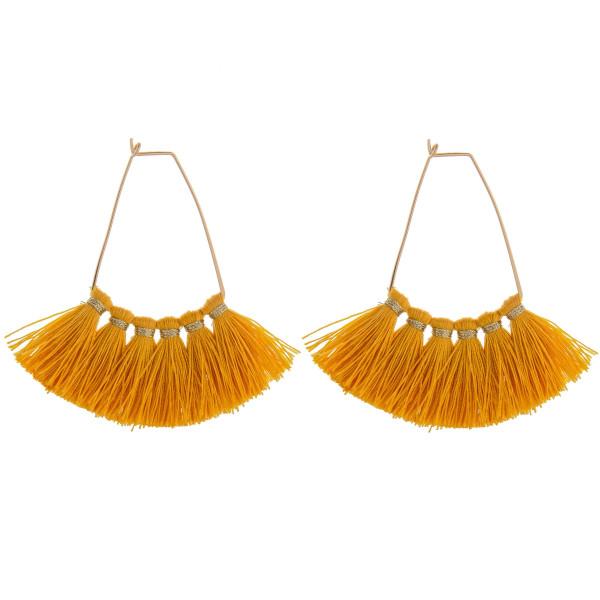 Wholesale long metal earring tassel Approximate