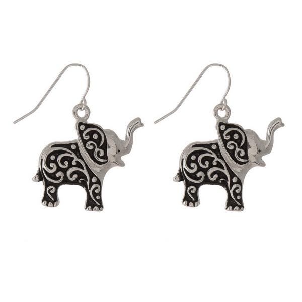 Wholesale silver fashion earrings baby elephant wholesale fashion jewelry fashio