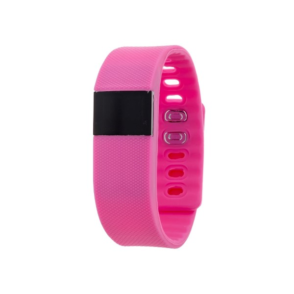 Wholesale hot pink activity tracker heart rate counts steps calories monitors sl