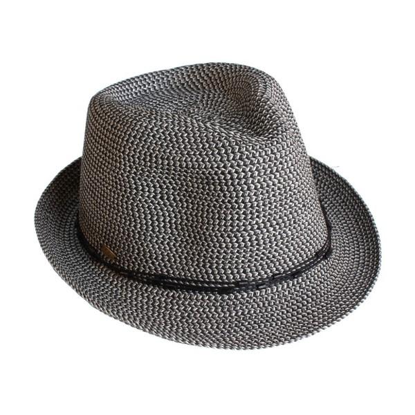 Wholesale c C brand ST multi colored fedora hat decorative string paper straw po