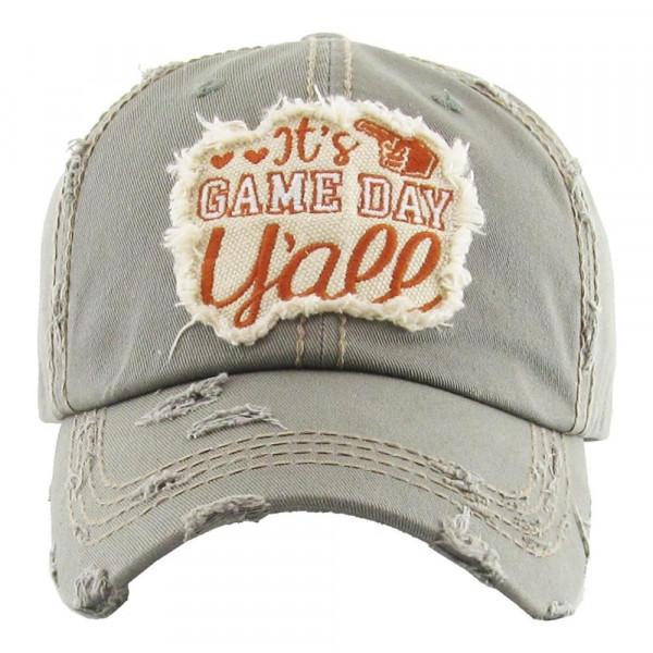 Wholesale embroidered vintage ball cap washed details cotton Adjustable velcro c