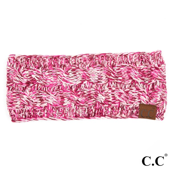 Wholesale c C HW Multicolor cable headwrap Acrylic One fits most