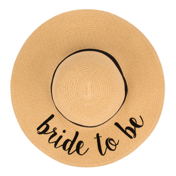 Wholesale c C ST brim floppy beach hat Bride Be hat crushable packable able hold