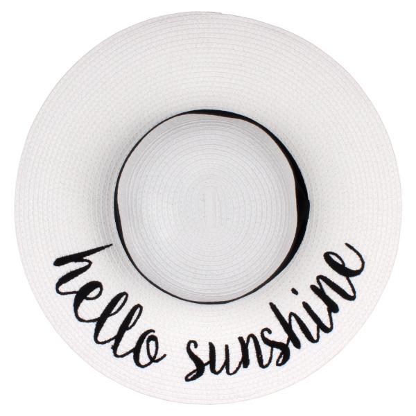 Wholesale c C Brand brim floppy beach hat paper Brim hat total diameter hat crus
