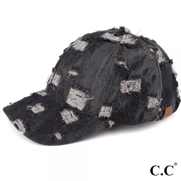 Wholesale c C brand vintage denim baseball cap cotton One fits most