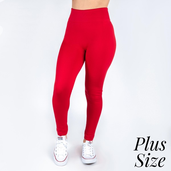Wholesale kathy Mix plus red summer weight leggings seamless chic must have eve