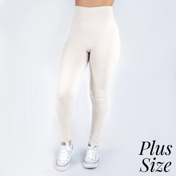 Wholesale plus white leggings full summer weight Offered everyday essential colo