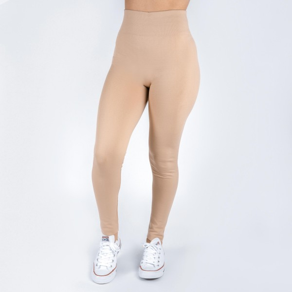 Wholesale khaki leggings one fits all full summer weight Offered everyday essent