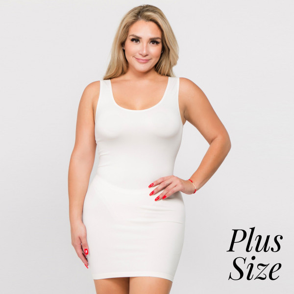 Wholesale traditional ribbed tank dress long haul memory fibers hugs curves lik