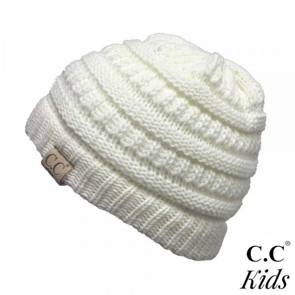 Wholesale c C YJ KIDS Knit beanie kids Acrylic One fits most