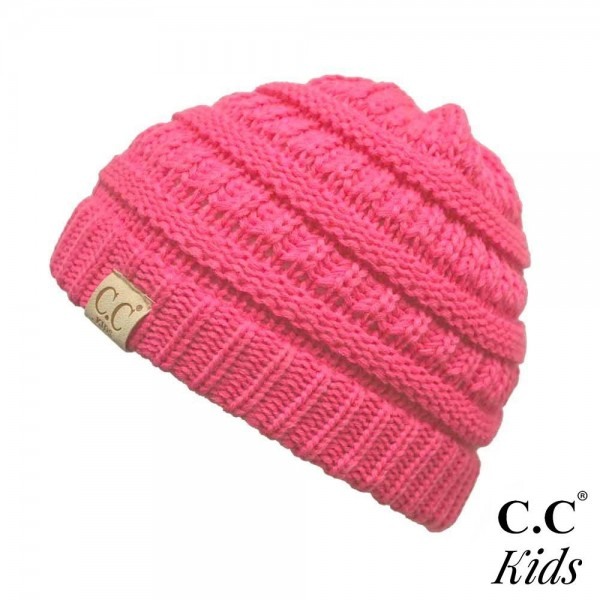 Wholesale c C YJ KIDS Knit beanie kids Acrylic Band circumference unstretched st