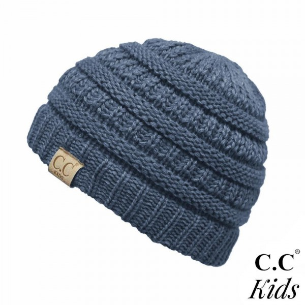 Wholesale c C YJ KIDS Knit beanie kids Acrylic One fits most