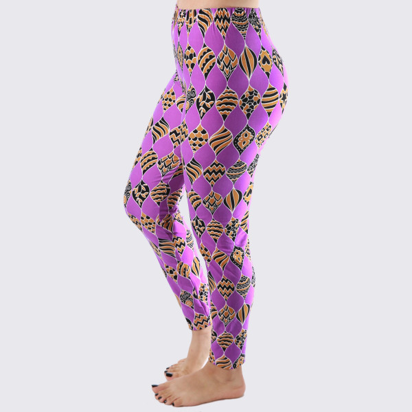 Wholesale mix printed peach skin leggings seamless chic must have every wardrob