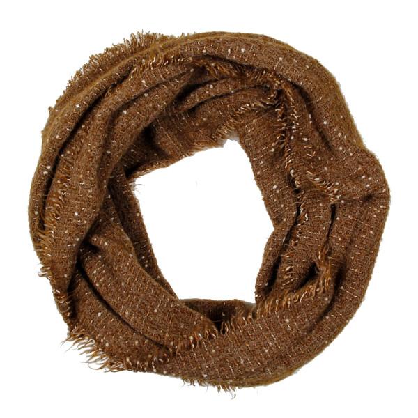 Wholesale solid infinity scarf acrylic