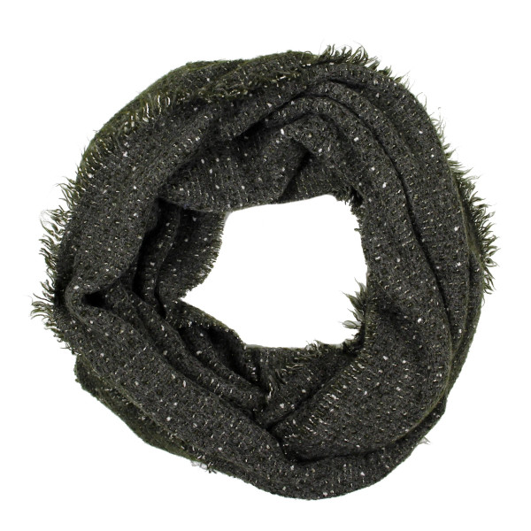 Wholesale solid infinity scarf acrylic