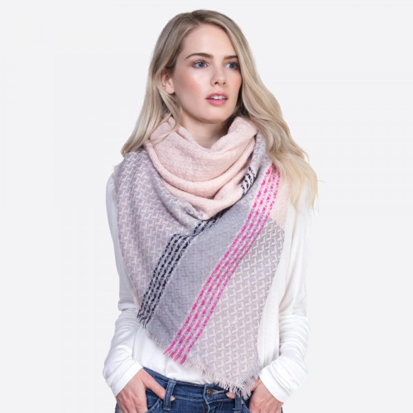 Wholesale soft printed square scarf acrylic