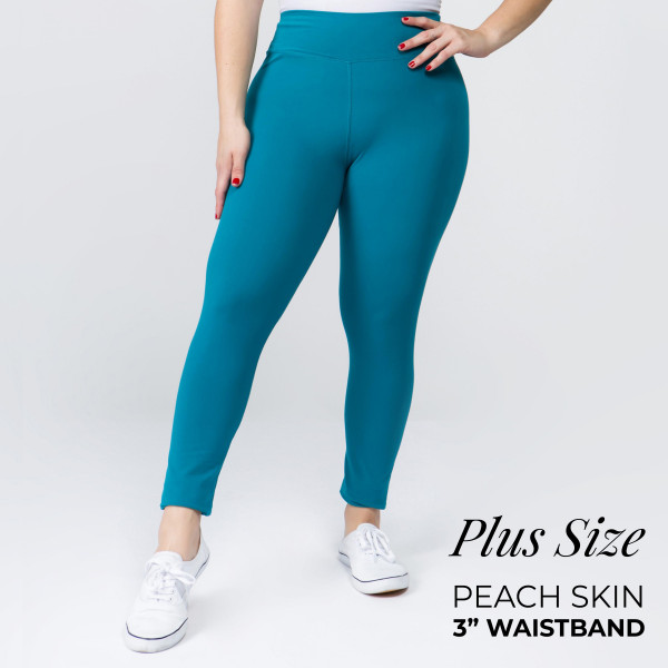 Wholesale plus Mix Brand peach skin leggings seamless chic must have every ward