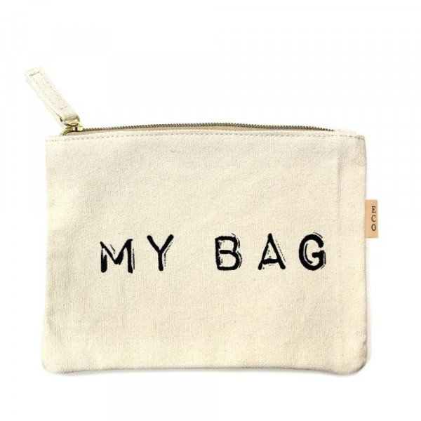 Wholesale canvas zipper pouch My Bag Cotton