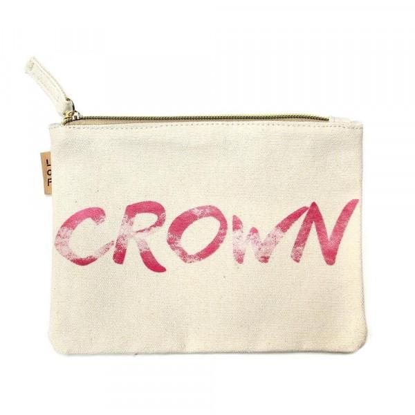Wholesale canvas zipper pouch Grown Cotton