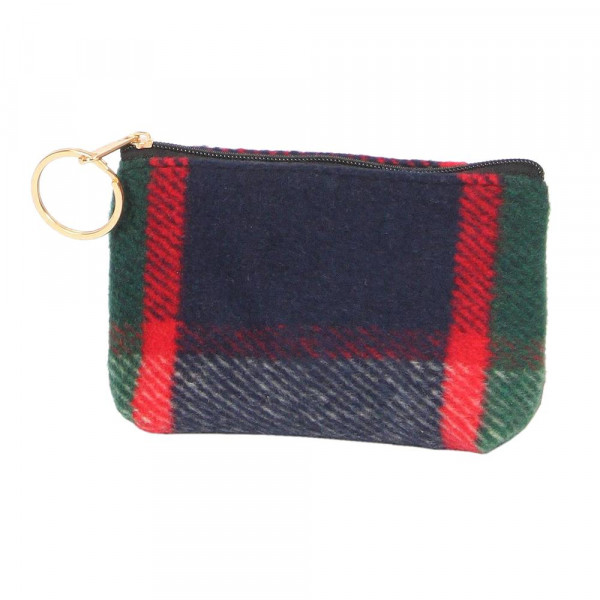 Wholesale plaid coin purse acrylic W L