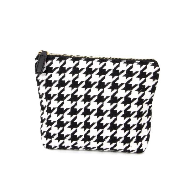 Wholesale acrylic zipper pouch W H