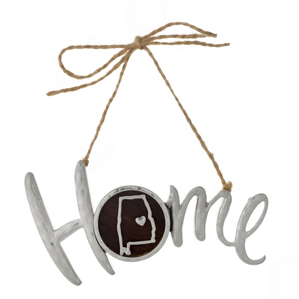 Wholesale hammered silver Home jute hanging cord state Alabama Can be used multi