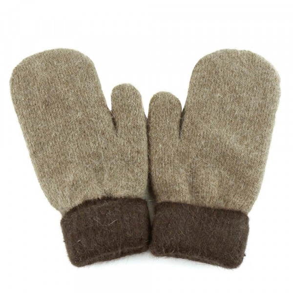 Wholesale soft touch knit mittens