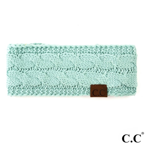 Wholesale c C HW Cable headwrap Acrylic One fits most