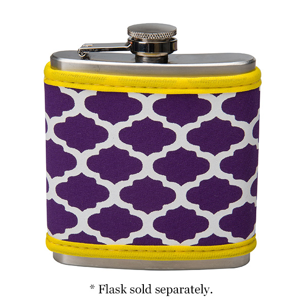 Wholesale display school pride very own neoprene flask cover school colors Neopr