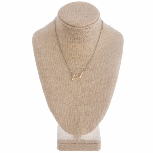 """Gorgeous long metal """"loved"""" Necklaces. Perfect for everyday wear. Approximate 16"""" in length with 1"""" pendant."""