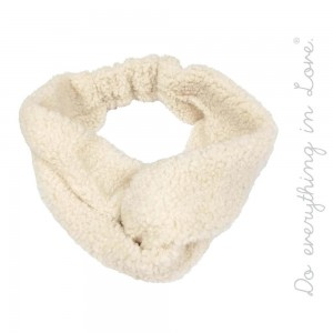 Do everything in Love brand solid color faux sherpa fleece knotted headwrap.  - One size fits most - 100% Polyester