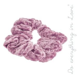 Do everything in Love brand velvet hair scrunchie.  - One size - 80% Polyester, 20% Nylon