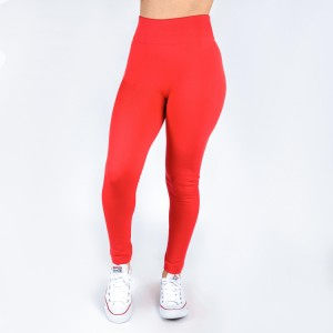 Coral leggings. This style is one size fits all, full length, and in a summer weight. Offered in everyday essential colors to coordinate with long tops or skirts.  Made of a 92% nylon and 8% spandex mix.