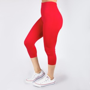 New Kathy / New Mix coral, summer-weight capris are seamless, chic, and a must-have for every wardrobe. These lightweight, interchangeable styles are versatile, perfect for layering, and available in many shades. 92% Nylon 8% Spandex, one size fits most.
