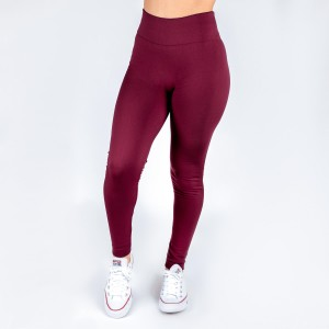New Kathy / New Mix burgundy, summer-weight leggings are seamless, chic, and a must-have for every wardrobe. These lightweight, full-length leggings are versatile, perfect for layering, and available in many shades. Smooth fabric, 92% Nylon 8% Spandex, one size fits most.