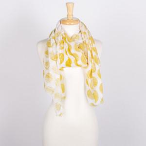 Lightweight polka dot scarf.   - 100% Acrylic