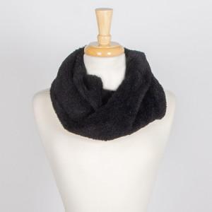 Faux fur infinity scarf.  - 100% Acrylic