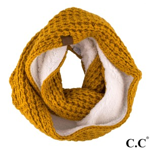 "C.C SF-36 Ribbed knit scarf   - 100% Acrylic - One size fits most - W:8"" X L:60"""