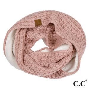 """SF-36-CC Ribbed knit scarf. 100% Acrylic- One size. 8""""w X 60""""L."""