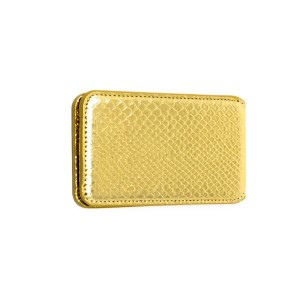 """Faux snakeskin self adhesive cell phone wallet. 4.5"""" x 2.5"""""""