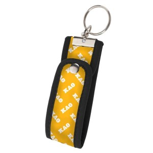 Neoprene Wristlet Key Fob-Kappa Alpha Theta.  Keep your keys handy and your hands free with our popular Wristlet Key Fob! Fits most wrists and now has a convenient snap closure.