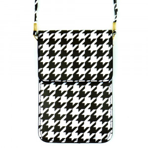 "Crossbody cellphone and handbag.  4 3/4""X7 1/4"". 100% PU"