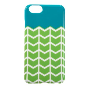 This lime green, white, and turquoise case is a must have for your iPhone 6/6s! Easy to take on and off, allows full access to button, ports, and controls. Perfect for adding your own vinyl lettering!