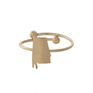 Adjustable Alabama ring.